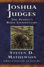 Joshua and Judges (People's Bible Commentaries S.) PDF