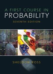 A first course in probability PDF