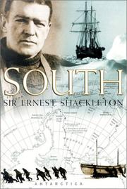 South by Ernest Henry, Sir Shackleton