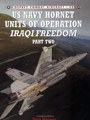 Us Navy Hornet Units of Operation Iraqi Freedom, Part Two (Combat Aircraft 58) PDF