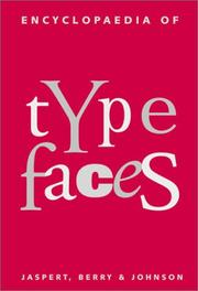 The encyclopaedia of type faces by W. Pincus Jaspert