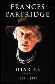 Diaries by Frances Partridge