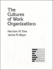 The cultures of work organizations PDF
