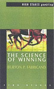The Science of Winning (High Stakes) by P. Burton