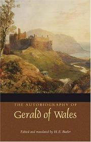The autobiography of Gerald of Wales by Giraldus Cambrensis