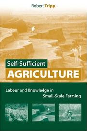 Self-Sufficient Agriculture by Robert Tripp