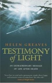 Testimony of light PDF