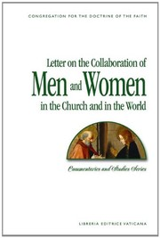 Letter on the Collaboration of Men and Women in the Church and in the World