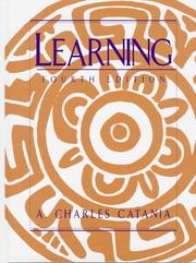 Learning by A. Charles Catania