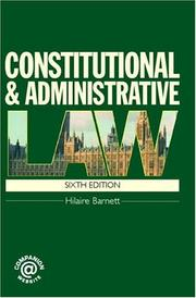 Constitutional & Administrative Law 6/e