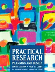 Practical Research by Paul D. Leedy, Jeanne E. Ormrod