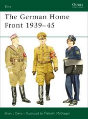 The German Home Front 1939-45 PDF