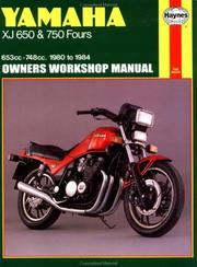 Yamaha XJ650 & 750 owners workshop manual by John Harold Haynes