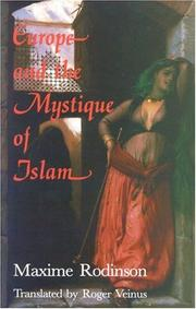 Fascination de l'Islam by Maxime Rodinson