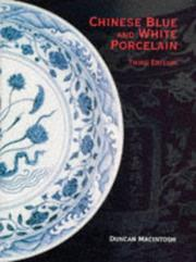 Chinese blue and white porcelain by Duncan Macintosh