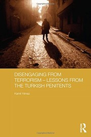 Disengaging from Terrorism - Lessons from the Turkish Penitents