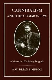 Cannibalism and the common law PDF