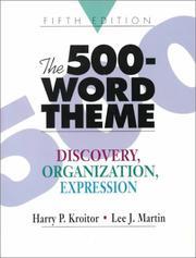 The 500-Word Theme PDF