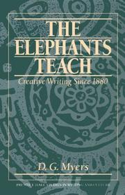 The elephants teach by D. G. Myers