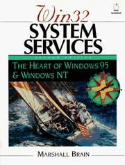 Win 32 System Services by Marshall Brain