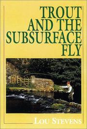 Trout and the Subsurface Fly PDF