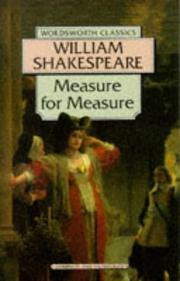Cover of: Measure for Measure (Wordsworth Classics) (Wordsworth Classics) by William Shakespeare
