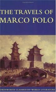Travels of Marco Polo by Marco Polo