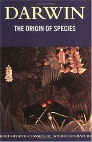 Cover of: THE ORIGIN OF SPECIES (Wordsworth Collection) (Wordsworth Collection) by Charles Darwin