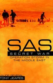 SAS secret war by Tony Jeapes