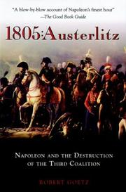 1805, Austerlitz by Goetz, Robert