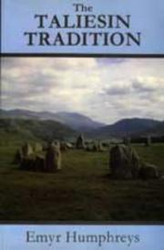 The Taliesin Tradition by Humphreys, Emyr.