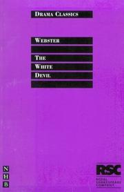 The white devil by Webster, John