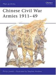 Chinese Civil War Armies 1911-49 PDF