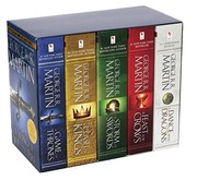 A Dance with Dragons / A Feast for Crows / A Storm of Swords / A Clash of Kings / A Game of Thrones