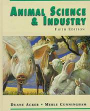 Animal science and industry by Duane Acker