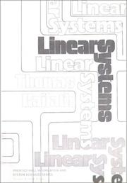 Linear systems PDF