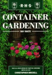 Container Gardening (The Royal Horticultural Society Encyclopaedia of Practical Gardening) PDF