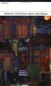 Sophie Hannah/Hotels like Houses PDF