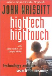 High tech high touch by John Naisbitt