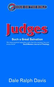 Focus on the Bible - Judges PDF