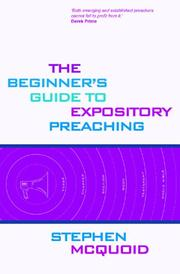 The Beginner's Guide To Expository Preaching PDF