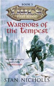 Cover of: Warriors of the Tempest (Orcs) by Stan Nicholls