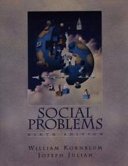 Social problems by William Kornblum