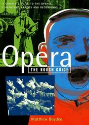 Opera by Matthew Boyden