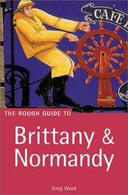 The rough guide to Brittany & Normandy PDF