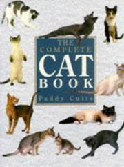 The complete cat book by Paddy Cutts