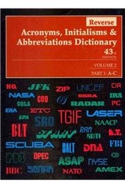 Reverse Acronyms Initialisms & Abbreviations Dictionary