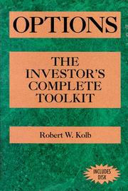 Options by Robert W. Kolb