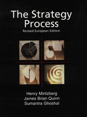 Cover of: Strategy Process, The - European Edition (Revised) by Henry Mintzberg, James Brian Quinn, Sumantra Ghoshal