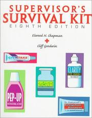 Supervisor's survival kit by Elwood N. Chapman